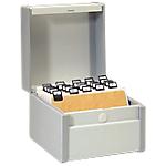 Boîte à fiches   Acco Val Rex   Classement en hauteur   148 x 210 mm   blanc
