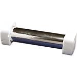 Dévidoir + rouleau d'aluminium Aluminium 30cm (l) x 20m (L) Blanc, argenté