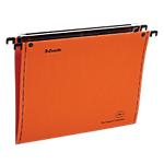 Dossiers suspendus fond V Esselte 49939 Orange 25 Unités