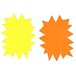 Éclatés APLI 16950 Jaune, orange   50 Unités