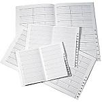 Répertoire pour semainier Office Depot Eco 1 Semaine sur 2 pages 2020 Noir