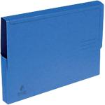 Chemise à soufflet et 1 rabat   Fast   3 cm   24 x 32 cm   bleu