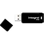 Clé USB Integral INFD64GBBLK 64 Go Noir