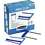 Clips d'archivage Plastique Fellowes Bankers Box Bleu   50 Unités