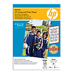 Papier photo Brillant Blanc HP Q8698A A4 250 g
