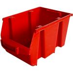 Bac à bec Plastique 4 Viso 150 (l) x 235 (l) x 126 (H) mm Rouge