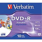 DVD+R Verbatim 43508   10 Unités