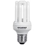 Ampoule fluocompacte Sylvania E27 15 W Blanc chaud