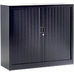 Armoire basse monobloc Pierre Henry GC1012 Acier, polypropylène 1200 x 430 x 1000 mm Noir