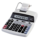 Calculatrice imprimante Office Depot AT 2100 12 chiffres Blanc, noir, gris