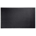 Tapis d'entrée intérieur Niceday 150 (H) x 90 (l) cm Noir