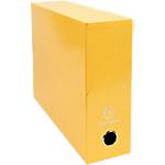 Boîte de transfert Exacompta Iderama 33 x 9 x 25 cm Jaune 5 Unités