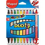 Feutres Maped Color'Peps Multicolore   10 Unités