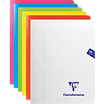 Cahier grands carreaux piqué Polypro Clairefontaine Mimesys A5 90 g
