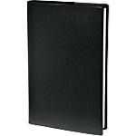 Semainier Reliure cousue PVC Quo Vadis Principal 2019 24 (H) x 18 (l) cm 1 Semaine sur 2 pages Noir