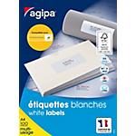 Étiquettes multi usage APLI Agipa 38,1 x 99,1 mm Blanc