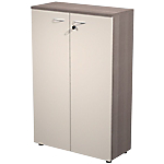 Armoire BusinessLine 800 x 350 x 1 200 mm Imitation cèdre, beige