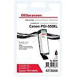 Cartouche jet d'encre Office Depot Compatible Canon PGI 550XLPGBK Noir