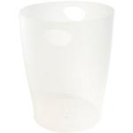 Corbeille à papier Exacompta Classic Blanc 26,3 x 26,3 x 33,5 cm
