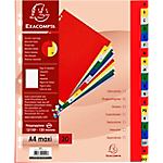 Intercalaires Exacompta A4+ Assortiment