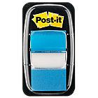 Marque Pages Post it Souples 2,54 x 4,32 cm Bleu   50 Bandes