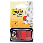 Marque Pages Post it Souples 2,54 x 4,32 cm Rouge   50 Bandes
