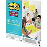 Post it Super Sticky Brainstorming, travail d'équipe 55,8 (H) x 55,8 (l) cm Vert fluo   30 Feuilles