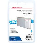 Cartouche jet d'encre Office Depot Compatible Epson T7022 C13T70224010
