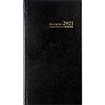 Semainier de poche à spirale Brepols Interplan 1 Semaine sur 2 pages 2020 Noir