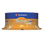 DVD R enregistrable Verbatim 4.7 Go 16x 25 Unités