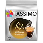 Dosettes de café L'or Cafe Long Classique Tassimo