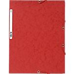 Chemise 3 rabats à élastique Exacompta Carte lustrée véritable A4 400 g