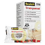Ruban adhésif Scotch Scotch 550 19 mm x 33 m Transparent 8 Rouleaux