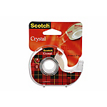 Ruban adhésif sur dévidoir Scotch Invisible
