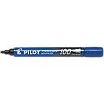 Marqueur permanent Pilot 100 Ogive Bleu