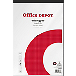 Bloc notes Office Depot A4+ Quadrillé Blanc   100 Feuilles