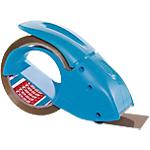 Dévidoir de ruban adhésif d'emballage tesapack Pack'n'Go 50 mm x 50 m Bleu