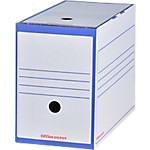 Boîte d'archives Office Depot 15,9 x 33,6 x 24,5 cm Bleu 25 Unités