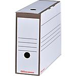 Boîte d'archives Office Depot 9,2 x 33,6 x 24,5 cm Blanc 25 Unités