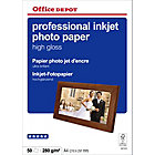 Papier photo professionnel Brillant Blanc Office Depot Professional A4 280 g