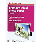Papier photo premium Brillant Blanc Office Depot Premium A4 280 g