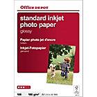 Papier photo standard brillant Brillant Blanc Office Depot A4 180 g