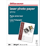 Papier Brillant Blanc Office Depot A4 200 g