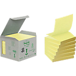 Notes adhésives Post it 76 x 76 mm Jaune   6 Unités de 100 Feuilles
