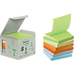 Z notes recyclés Post it Mini Tower 76 (H)  x  76 (l) mm 70 g