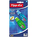 Roller correcteur Tipp Ex Micro Tape Twist 5 mm x 8 m   2 Unités