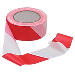 Ruban de signalisation pour chantier Viso 5 x 10000 cm Rouge, blanc