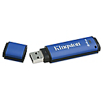 Clé USB cryptée Kingston DataTraveler Vault Privacy 3.0 Bleu