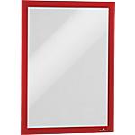 Cadre d'affichage adhésif DURABLE MAGAFRAME A4 Rouge 2 Unités