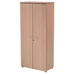 Armoire Realspace Easy 800 x 350 x 1 800 mm Imitation hêtre